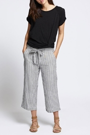 Sanctuary Sasha Stripe Crop - Front full body