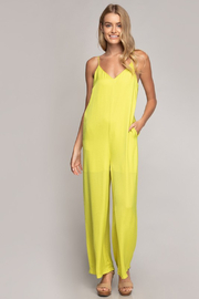 R+D  Sasha V Neck Jumpsuit - Product Mini Image