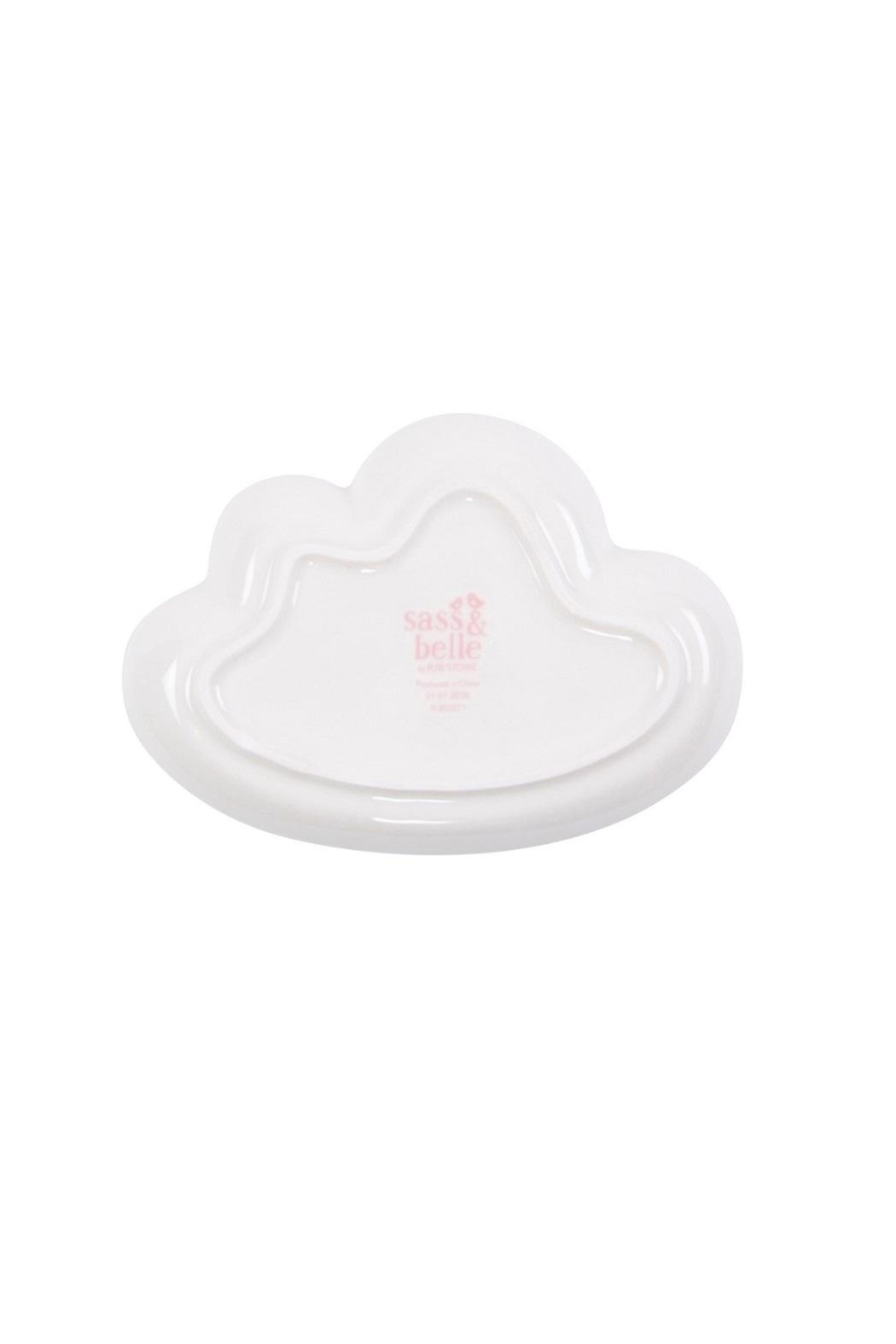 Sass & Belle Cloud Plate Dish - Side Cropped Image