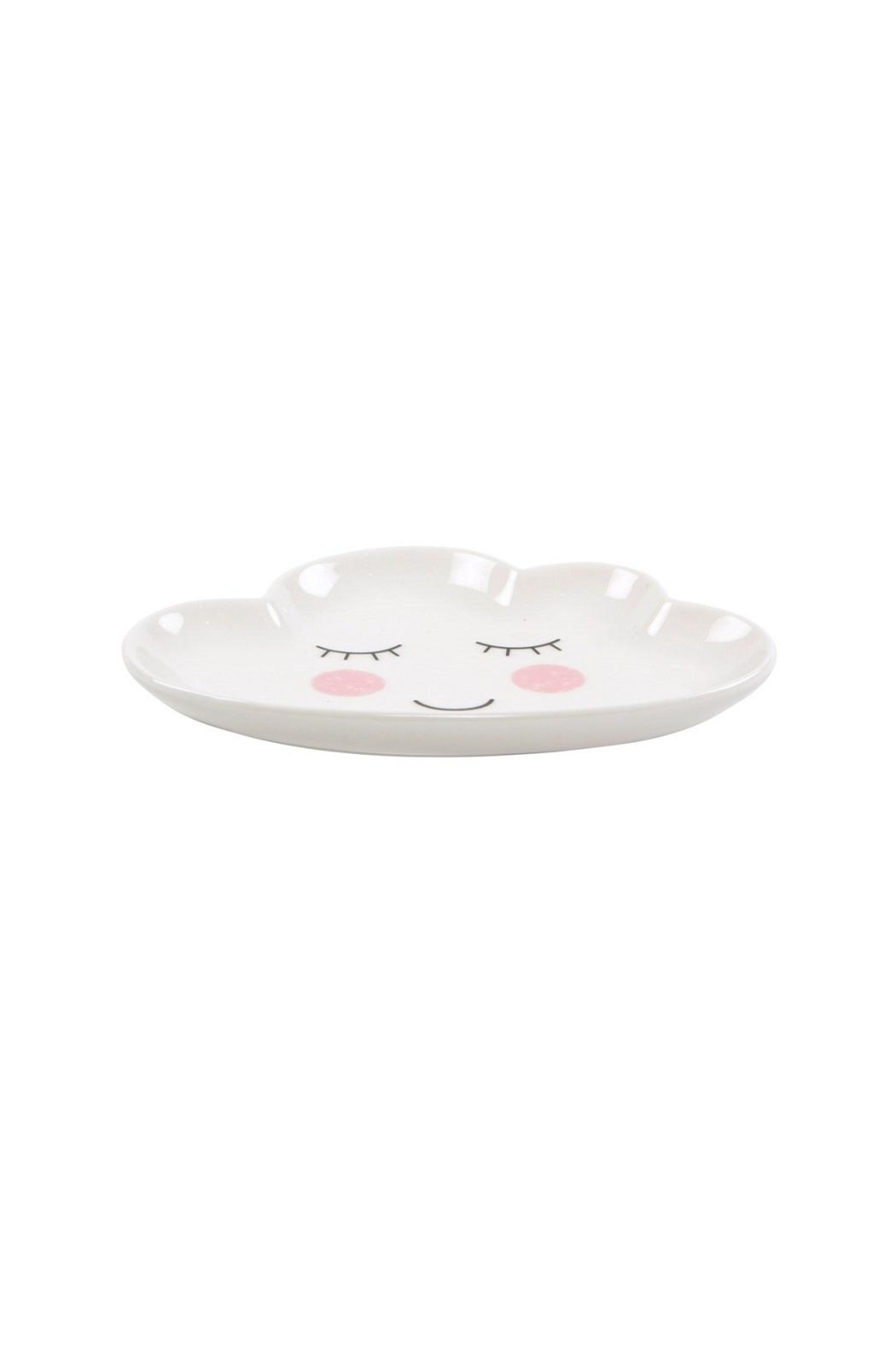 Sass & Belle Cloud Plate Dish - Front Full Image
