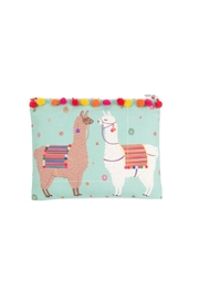 Sass & Belle Lima Llama Pouch - Front cropped
