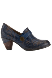 Spring Footwear Sassy Blue Shoes - Front full body