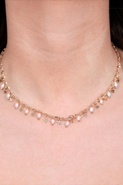 Caroline Hill Sassy Pearl & Star Necklace - Front full body