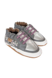 Robeez Sassy Sophie Grey - Front cropped