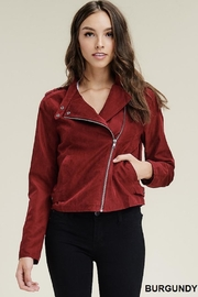 Staccato Sassy Suede Jacket - Product Mini Image
