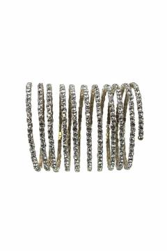 Sassy South Crystal Coil Bracelet - Product List Image