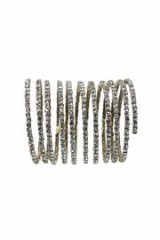 Sassy South Crystal Coil Bracelet - Product Mini Image