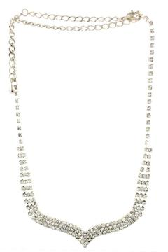Sassy South Rhinestone Necklace - Alternate List Image