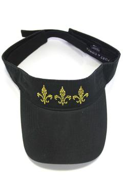 Sassy South Visor Fleur-De-Lis Topaz - Alternate List Image