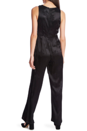 NapaLook SATEEN JACQUARD JUMPSUIT - Front full body