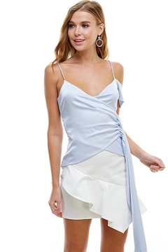 TCEC Satin Asymmetric Top - Product List Image