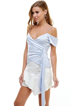 TCEC Satin Asymmetric Top - Alternate List Image