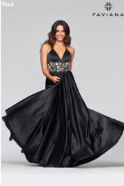 Faviana Satin Ball Gown - Product Mini Image