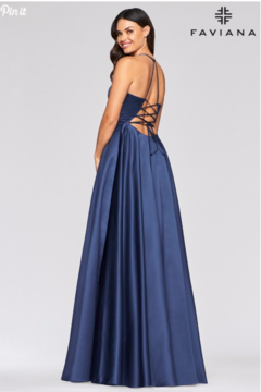 Faviana Satin Ballgown - Alternate List Image