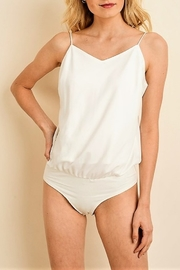 jane+1 Satin Bodysuit - Front cropped