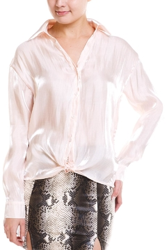 Shoptiques Product: Satin Button Down