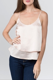 Milk & Honey Satin Cami Top - Front cropped