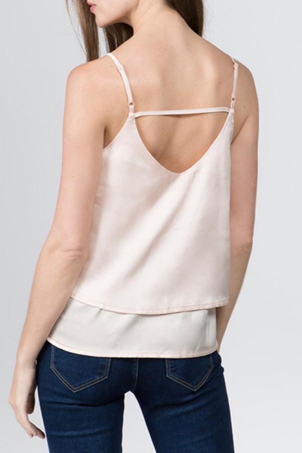 Milk & Honey Satin Cami Top - Side Cropped Image