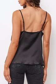 ONE AND ONLY COLLECTIVE Satin Cowl Neck Blouse - Side cropped