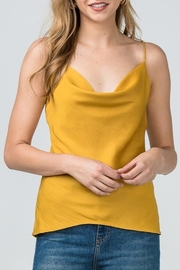 Entro Satin Cowl Neck Tank - Product Mini Image