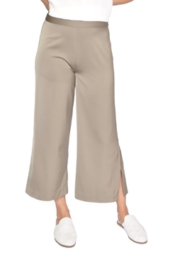 Just Female Satin Cropped Pants - Product List Image