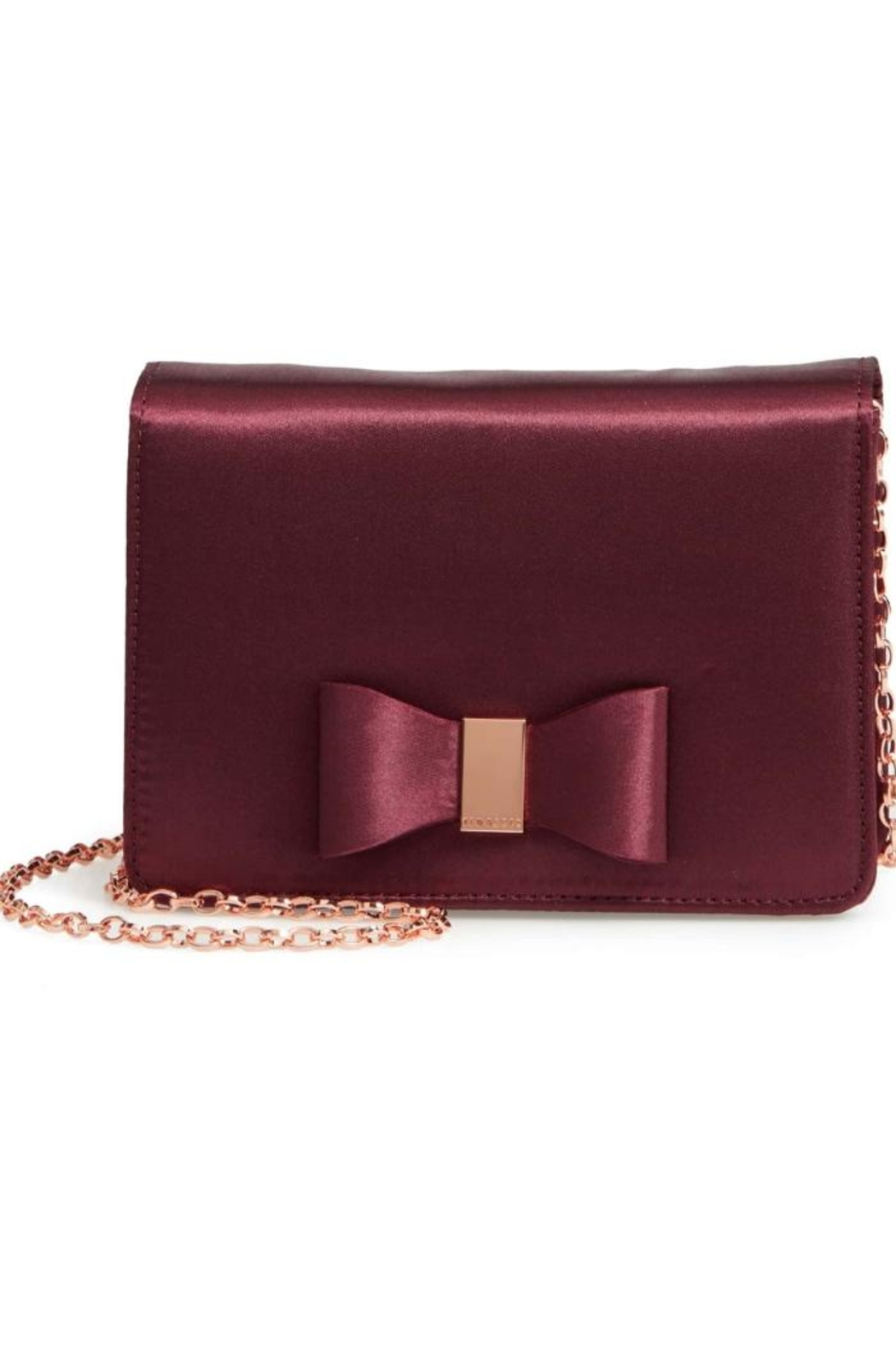 Ted Baker Satin Crossbody - Front Cropped Image