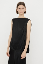 By Malene Birger Satin Drape Blouse - Product Mini Image