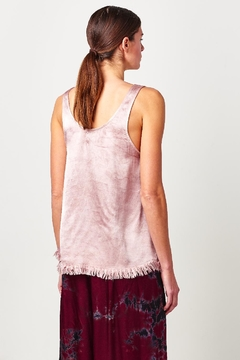 Tina + Jo Satin Feather Tank - Alternate List Image
