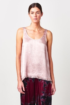 Tina + Jo Satin Feather Tank - Product List Image