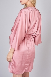 Do & Be Satin Kimono Dress - Side cropped