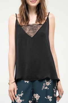 Blu Pepper Satin Lace Camisole - Product List Image