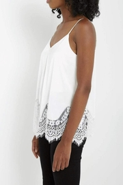 Soprano Satin Lace Camisole - Side cropped