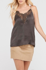 Wishlist Satin Lace Camisole - Front cropped