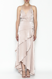 Mystic Satin Maxi Dress - Product Mini Image