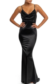 luxxel Satin Maxi Dress - Product Mini Image