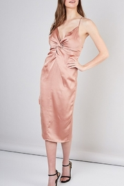 Do & Be Satin Midi Dress - Side cropped