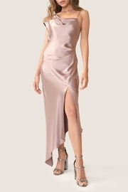 ABS Allen Schwartz Satin Midi Dress - Product Mini Image