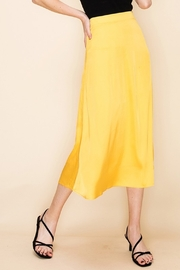 Double Zero Satin Midi Skirt - Product Mini Image