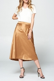 Ellison Satin Midi Skirt - Product Mini Image
