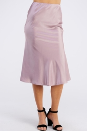 She + Sky Satin Midi Skirt - Product Mini Image