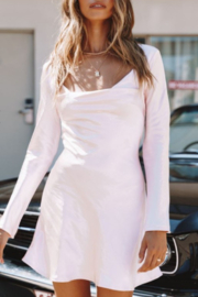 ONE AND ONLY COLLECTIVE Satin Mini Dress - Product Mini Image