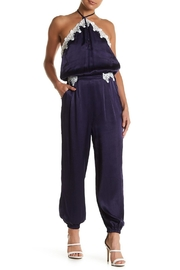 Sugarlips Satin-n-Lace Jumpsuit - Front cropped