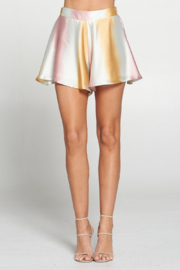 Adrienne Satin Ombre Swing Short - Product Mini Image