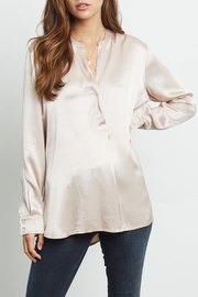 Rails Clothing Satin Popover Blouse - Product Mini Image