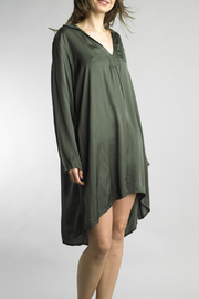 Tempo Paris Satin Shirt Dress - Product Mini Image