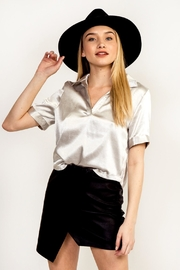 Olivaceous Satin Silver Top - Product Mini Image