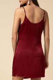 Entro Satin Slip Dress - Front full body