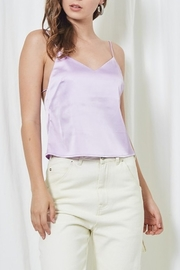 etophe studios Satin Tie Back Cami - Front cropped