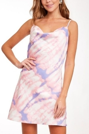 Abeauty by BNB Satin Tie Dye Slip Dress - Product Mini Image