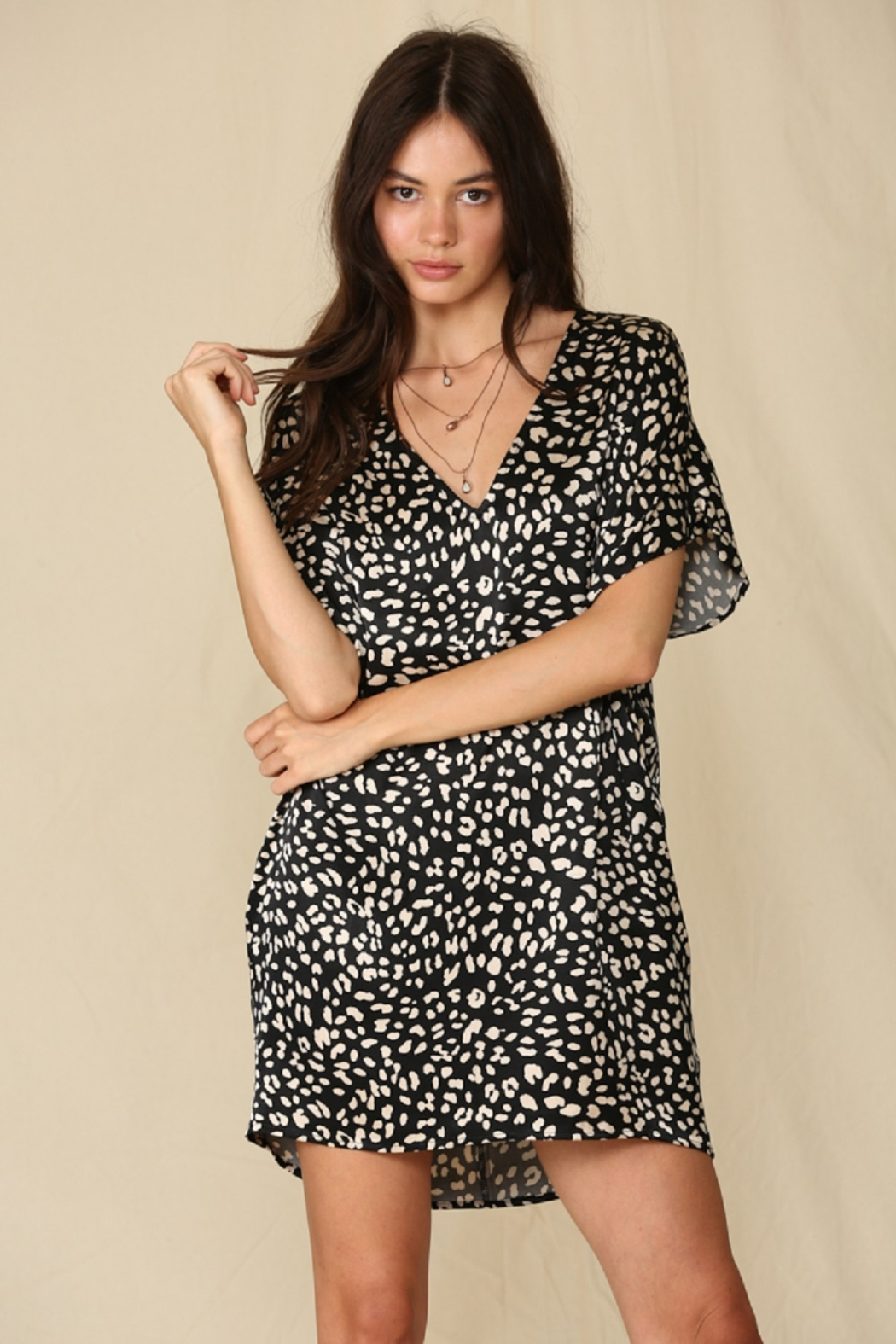 By Together  Satin Tunic Dres - Main Image